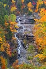 Journal Waterfall Autumn Foliage Beauty