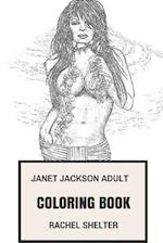 Janet Jackson Adult Coloring Book