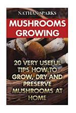 Mushrooms Growing
