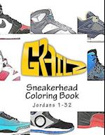 Grailz Sneakerhead Coloring Book