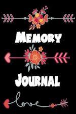 Memory Journal ( Blank Journal)