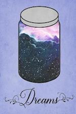 Dream Journal - Blue Watercolour Dream Jar (Blue)