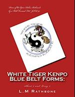 White Tiger Kenpo Blue Belt Forms
