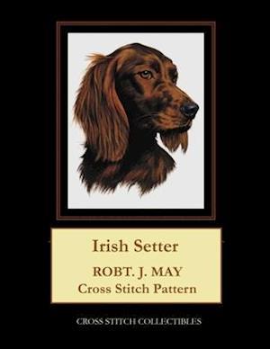 Irish Setter: Robt. J. May Cross Stitch Pattern