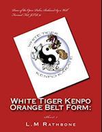 White Tiger Kenpo Orange Belt Form