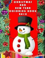 Christmas and New Year Coloring Book 2018