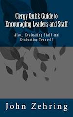 Clergy Quick Guide to Encouraging Leaders and Staff
