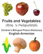 English-Armenian Fruits and Vegetables Children's Bilingual Picture Dictionary