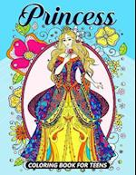 Princess Coloring Books for Teens