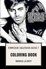 Enrique Iglesias Adult Coloring Book