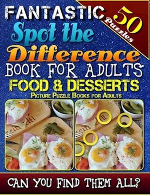 Fantastic Spot the Difference Book for Adults