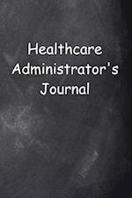 Healthcare Administrator's Journal Chalkboard Design
