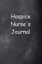 Hospice Nurse's Journal Chalkboard Design
