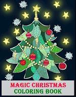 Magic Christmas Coloring Book