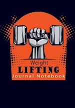Weight Lifting Journal Notebook