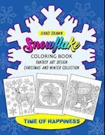 Snowflake Coloring Book