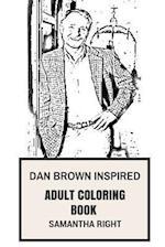 Dan Brown Inspired Adult Coloring Book