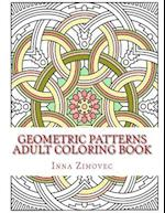 Geometric Patterns Adult Coloring Book