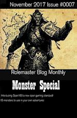 Rolemaster Blog Monthly