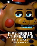 Five Nights at Freddy's 2018 Wall Calendar