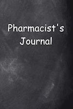 Pharmacist's Journal Chalkboard Design