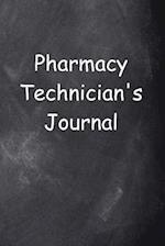 Pharmacy Technician's Journal Chalkboard Design