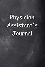Physician Assistant's Journal Chalkboard Design