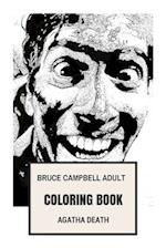 Bruce Campbell Adult Coloring Book