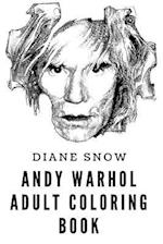 Andy Warhol Adult Coloring Book
