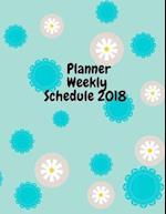 Planner Weekly Schedule 2018