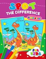 Spot the Difference Game Book for Kids