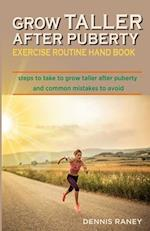 Grow Taller After Puberty Exercise Routine Hand Book