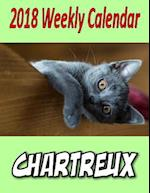 2018 Weekly Calendar Chartreux