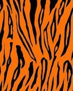 Bullet Journal Notebook Funky Wild Animal Print Tiger 2