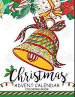 Christmas Advent Calendar Coloring Book.