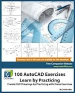 100 AutoCAD Exercises - Learn by Practicing
