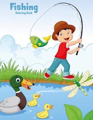 Fishing Coloring Book 1