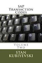 SAP Transaction Codes - Volume Two