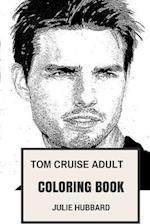 Tom Cruise Adult Coloring Book
