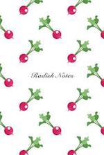 Radish Notes