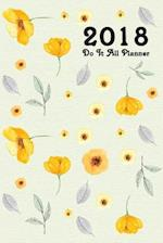 Do It All Planner 2018