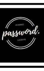 Password Book Notebook