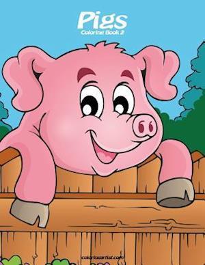 Pigs Coloring Book 2
