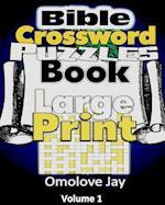 Bible Crossword Puzzle Book Large Print