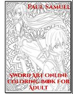 Sword Art Online Coloring Book for Adult