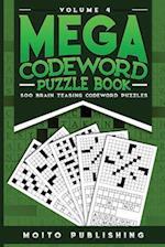 Mega Codeword Puzzle Book