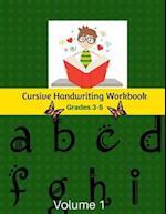Cursive Handwriting Workbook Grades 3-5