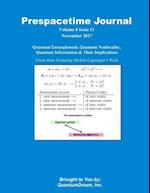 Prespacetime Journal Volume 8 Issue 11