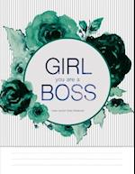 Lined Journal (Diary Notebook) - Girl You Are a Boss