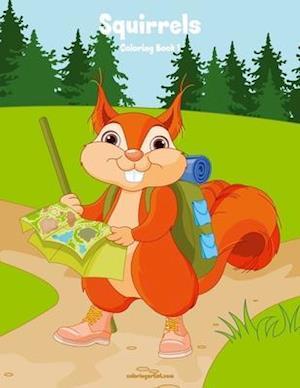 Squirrels Coloring Book 1